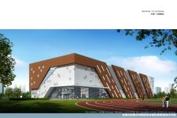 内蒙古民族大学体育馆建设项目